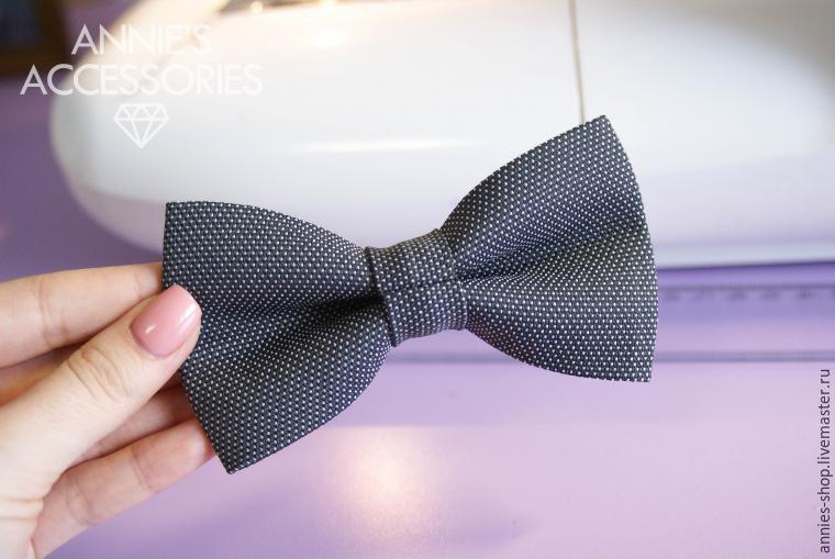 Шьем галстук-бабочку