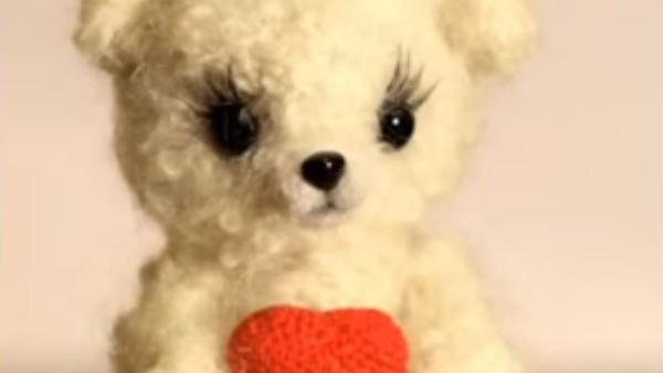 Глаза и нос из полимерной глины для мягких игрушек